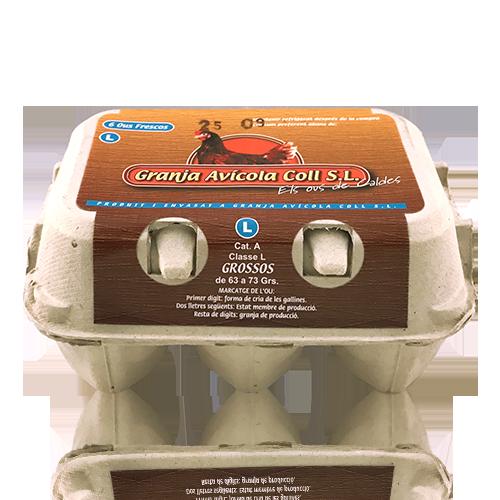 Huevos de Granja L 1/2 Docena