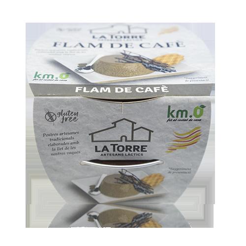 Flam de Cafè (2x105 g) La Torre
