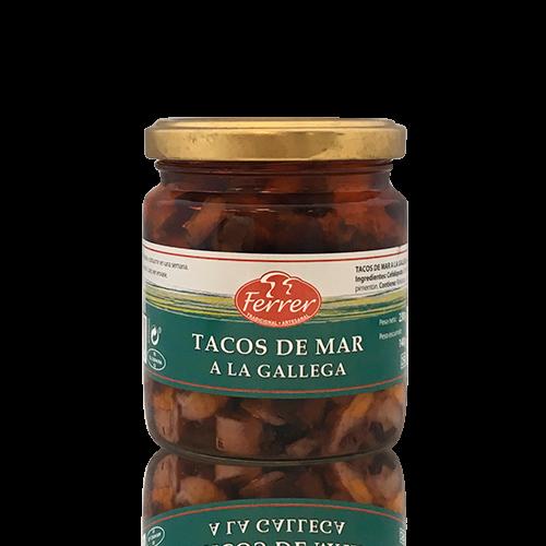 Tacos de mar a la Gallega Ferrer