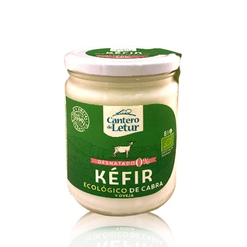 Kéfir de Cabra Desnatado Bio (420 g) Cantero de Letur
