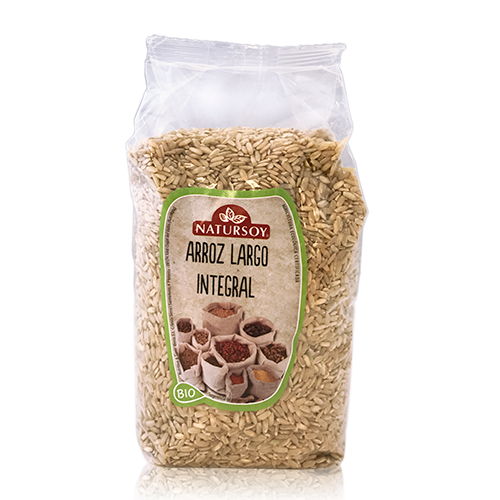 Arroz Integral Largo (1 kg) Natursoy