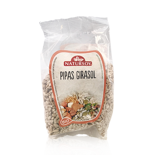 Pipas de Girasol (250 g) Natursoy