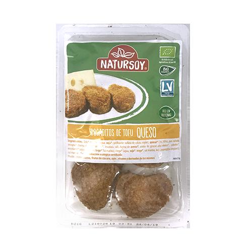 Bocaditos de Tofu i Formatge Arrebossats (150 g) Natursoy