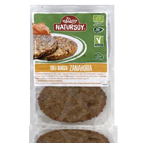 Hamburguesa Tofu/Pastanaga (2x80 g) Natursoy