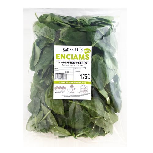 Espinaca Hoja (300 g)