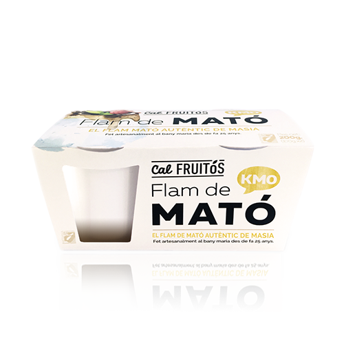 Flan Mató Cal Fruitós pack (2x105g)