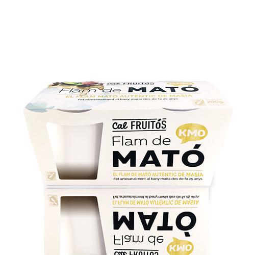 Flam de Mató (2x105 g) Cal Fruitós
