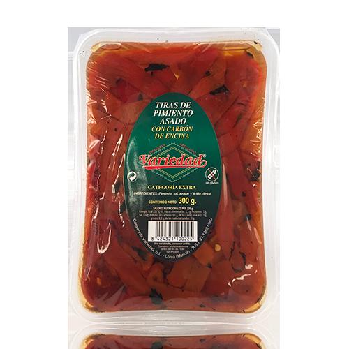Pebrot Vermell Escalivat (300 g) Variedad