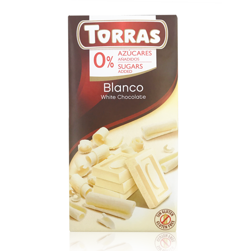 Chocolate Blanco (75 g) Torras