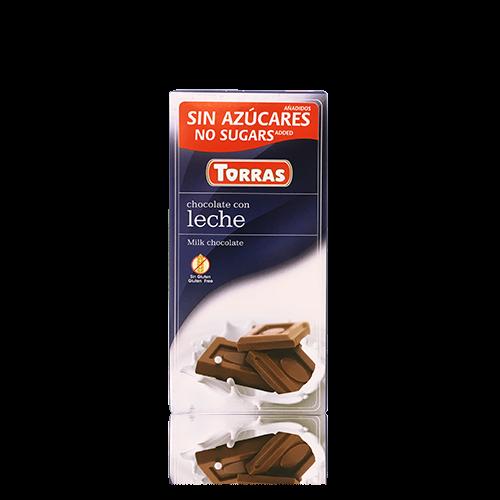 Xocolata amb Llet (75 g) Torras