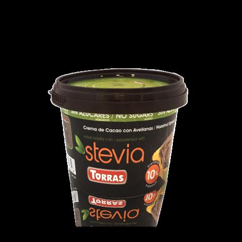 Xocolata Crema Cacau Avellana Stevia (200 g) Torras