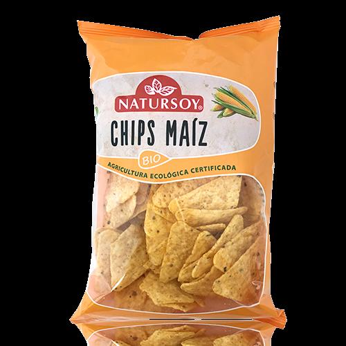 Chips de Maiz Natursoy (125g)