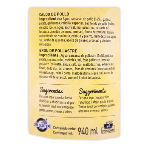 Caldo de Pollastre (1 l) Ferrer