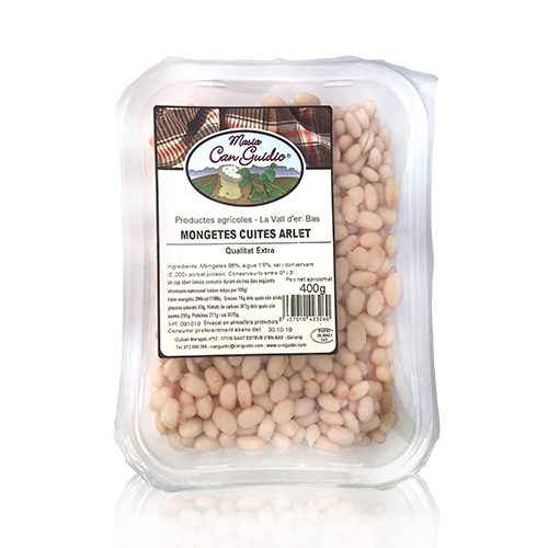 Mongetes Cuites Arlet (400 g) Can Guidic