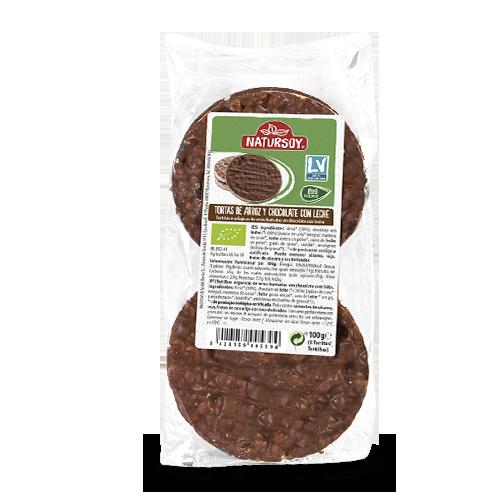 Coques Arròs/ Xocolata (100 g) Natursoy