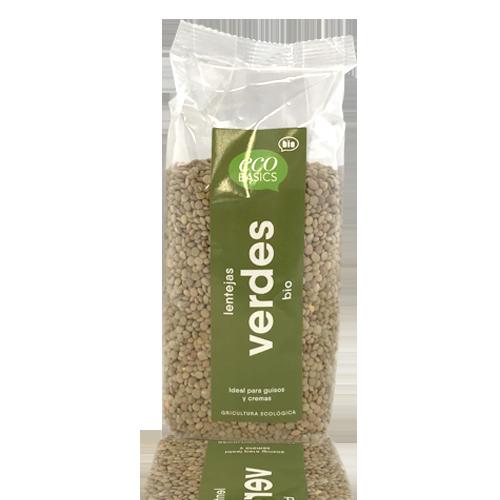 Lentejas Verdes (500 g) Ecobasics