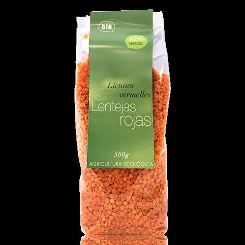 Llenties Vermelles (500 g)