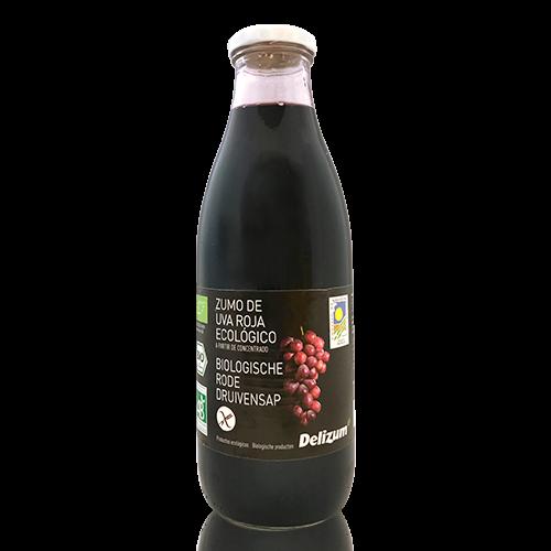 Suc de Raïm Negre Bio (1 l) Delizum