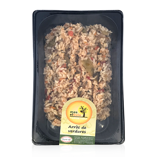 Arròs de verdures (500g) Mas el Guiu