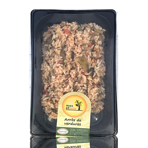 Arroz de verduras (500 g) Mas el Guiu