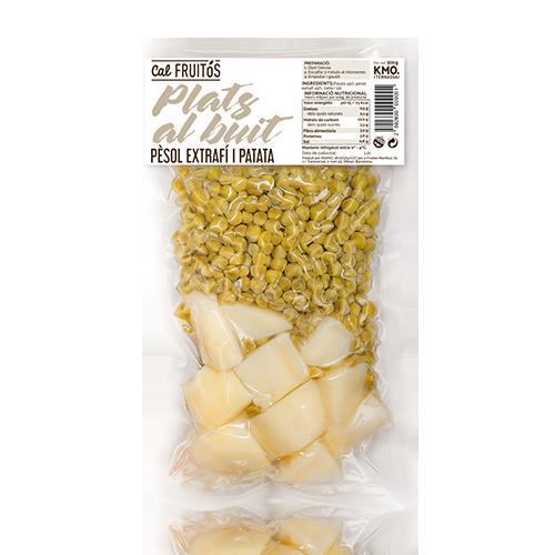 Patata i Pèsol Cuita Cal Fruitós (250g)