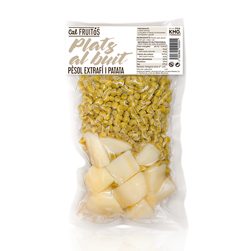 Patata y Gisante Cocida (250 g) Cal Fruitós