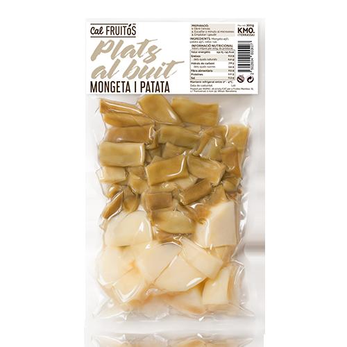 Patata i Mongeta Tendra Cuita (300 g) Cal Fruitós