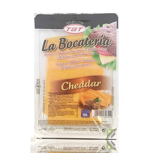 Queso Cheddar Rodajas (100g) La Bocatería