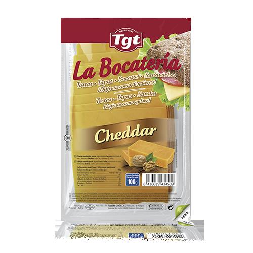 Formatge Cheddar Rodanxes (100 g) La Bocatería