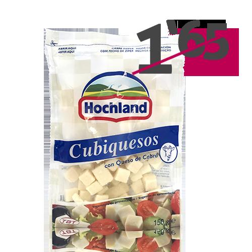 Cubiquesos Cabra (150 g) Hochland