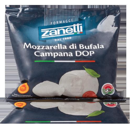 Mozzarella Fresca Di Bufala bola (125 g) Zanetti