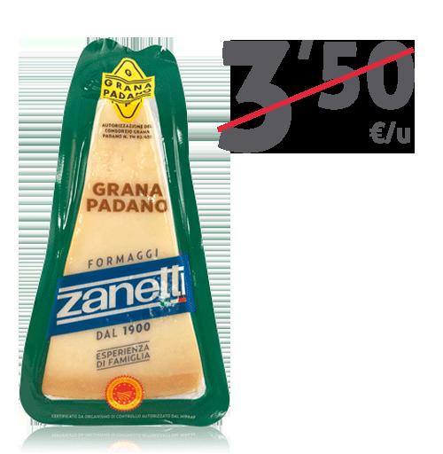 Queso Grana Padano (200 g)