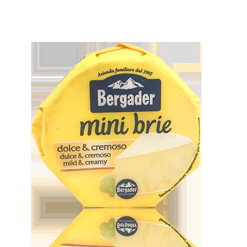 Formatge Brie rodó (150 g) Bergader