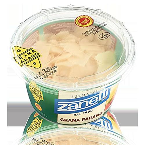 Escamas Queso Grana Padano Dop Tarrina (100 g) Zanetti