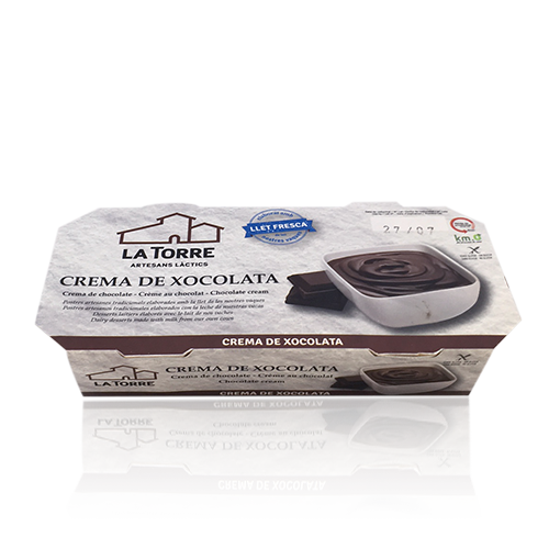 Crema Chocolate  (Pack 2 x120g)