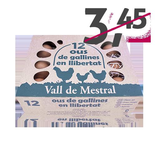 Huevos Camperos L Docena Vall de Mestral