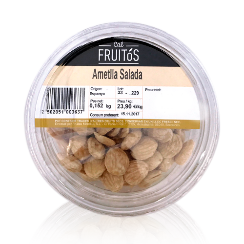 Almendra Salada (150g)