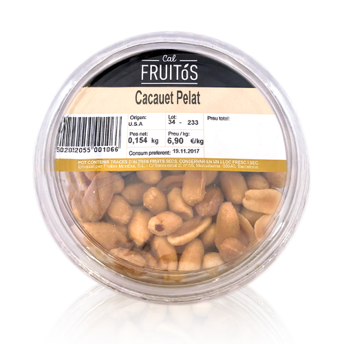 Cacahuetes Pelados (150 g)