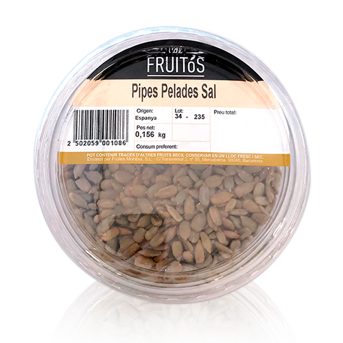 Pipes Pelades amb Sal (160 g)