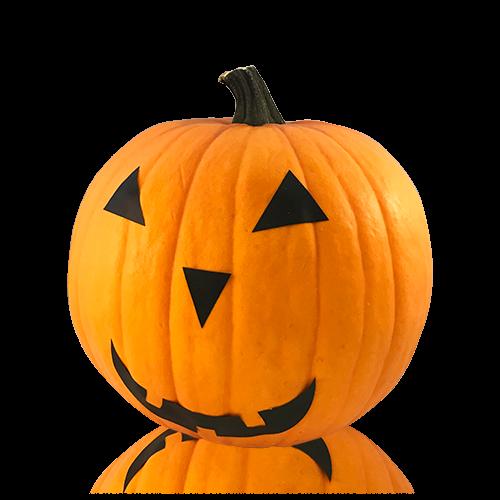 Carbassa  de decoració Halloween