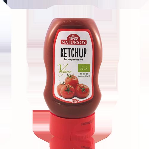 Ketchup amb Xarop d'Atzavara (300 g) Natursoy