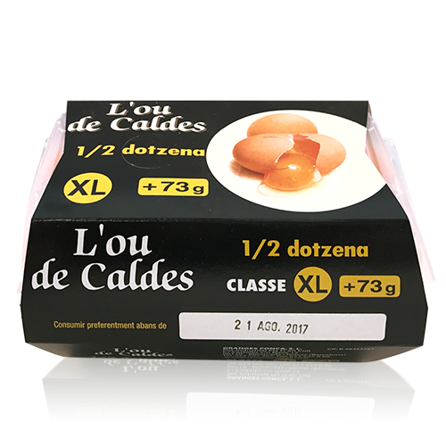 Huevos de Granja XL 1/2 Docena