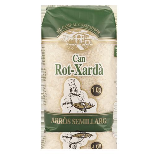Arròs Semi Llarg (1 kg) Can Rot Xardà