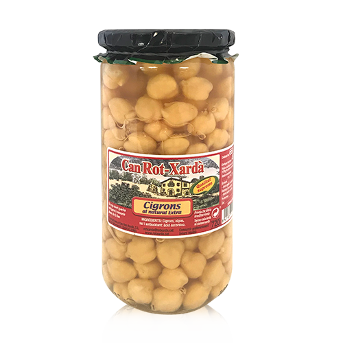Garbanzos (720 g) Can Rot-Xardà