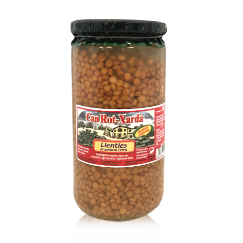 Lentejas (720 g) Can Rot-Xardà