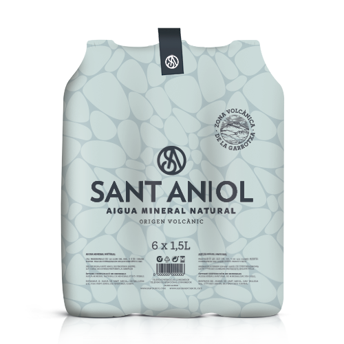 Agua Pack 6 Botellas (1,5 l) Sant Aniol