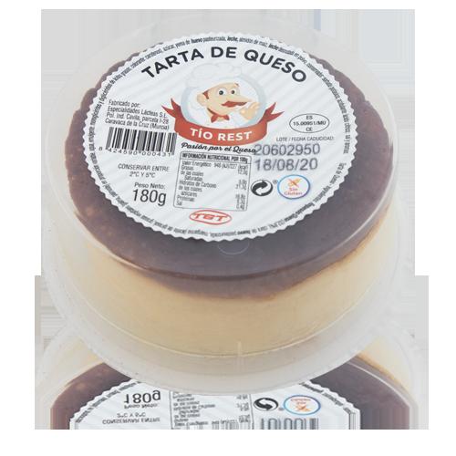 Pastís de Formatge (180 g) Tio Resti