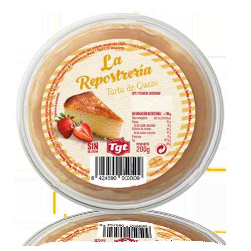 Pastís de Formatge (180 g) La Repostrería