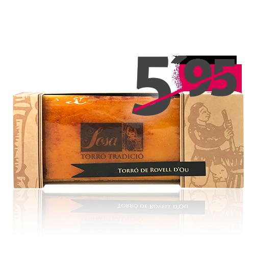 Torró Rovell (300 g) Sosa Tradició