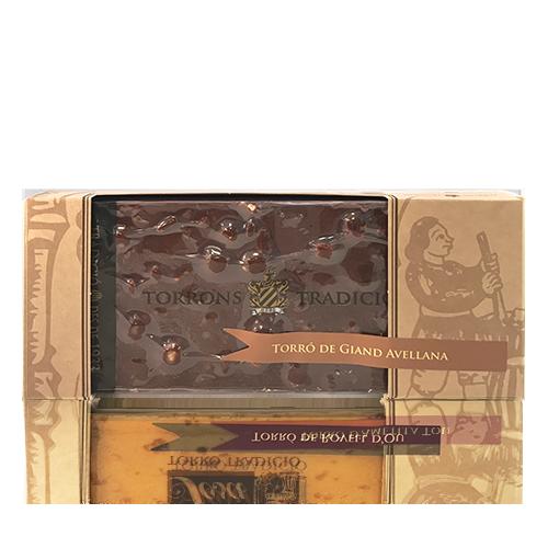 Torró Xocolata Avellana (300 g) Tradició